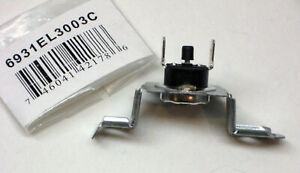 6931el3003c For Lg Dryer Thermostat Thermal Fuse Reset Ps3530484 Ap4457603