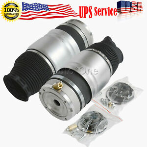 Pair Front Air Suspension Spring Audi Q7 Porsche Cayenne Vw Touareg Left Right