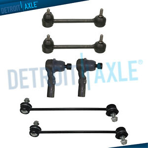 Brand New 6pc Complete Front And Rear Suspension Kit Mazda Protege Protege 5