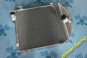 Fit Ford Model A 1928 1929 Hi performance Aluminum Alloy Radiator New Improved