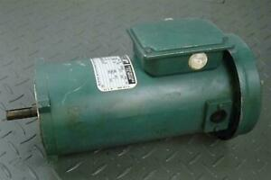 Reliance Electric 1 2hp 1750rpm 180v 56c Frame Tefc Extended Life Dc Motor T56s1