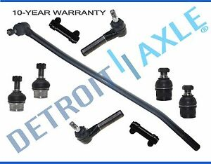 Brand New 9pc Complete Front Suspension Kit For 1992 1997 Ford F 350 4x4 Only