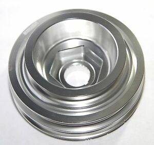 Silver Crank Pulley For B Series Only 88 00 Civic B 88 91 Crx 93 97 Del Sol