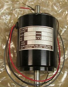 Globe Industries Ac9278 28 Volt 2 Phase Precision Miniature Motor