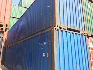 40 Shipping Container Storage Container Conex Box In Charlotte Nc