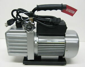 90066 2v 110 6 Cfm Vacuum Pump Two Stage 1 3 Hp 15 Microns 3440 Rpm Mastercool