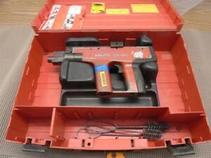 Hilti Dx 451 Powder Actuated Nail Gun W Case Used Slight Wear tp