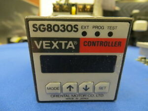 Oriental Motor Vexta Controller Sg8030s Used 24 Volt Dc
