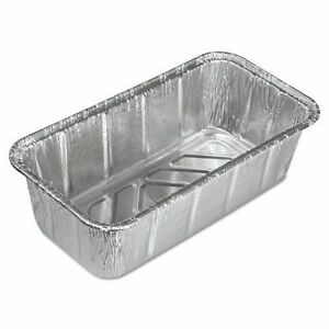 Handi foil 2 Lb Aluminum Loaf bread Pan 500pk disposable Baking Tin Containers