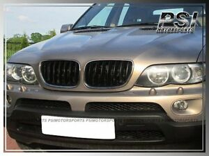 2000 2003 Bmw Before facelift E53 X5 Gloss Black Front Grille Kidney Replacement