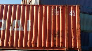 45ft Hc Shipping Container Storage Container Conex Box In Norfolk Va