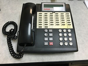 Avaya Partner 34d Black Phone