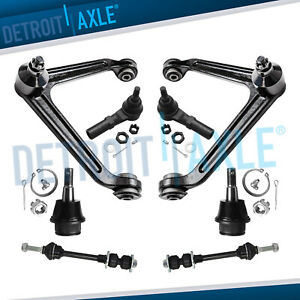 8pc Front Upper Control Arm With Ball Joint For 2002 2005 Dodge Ram 1500 2wd