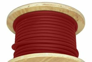1000 1 0 Awg Welding Cable Red Alterable Portable Wire Usa