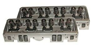 Engine Works 171000a Small Block Chevy Vortech Aluminum Cylinder Heads 2 02 1 60