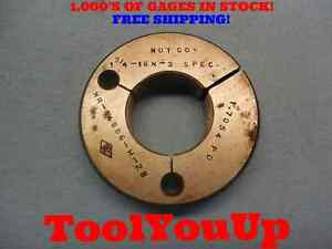 1 3 4 16 N 3 Special Pitch Diameter Thread Ring Gage No Go Only P d 1 7054 Tool