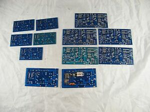 Lot Of 12 New Balmar Blank Voltage Regulator Boards 3 Versions Sizes