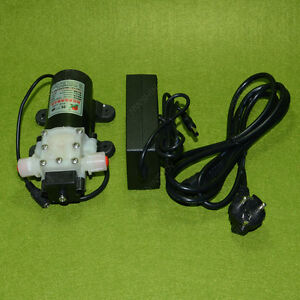Dc12v 45w Diaphragm Water Pump Automatic Switch With The Power Adapter Eu Plug