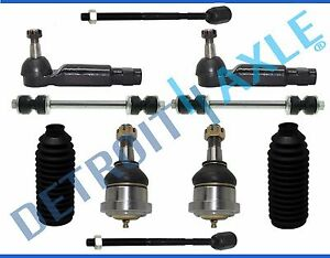 Inner Outer Tie Rod Lower Ball Joint Sway Bar Kit Mustang T bird Marquis Capri