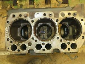 John Deere Jd 3029 Engine Block Used 3 Cylinder Diesel