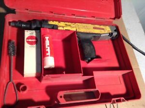 Hilti 384033 Dx36m Semi automatic Powder actuated Fastening Nail Gun Pkg 27cal
