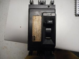 Federal Pacific Nef432030 30 Amp 240 Volt 2 Pole Circuit Breaker