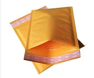 3600 4 9 5x14 5 Kraft Bubble Mailers Padded Envelopes Bags Self Seal Paper Bags