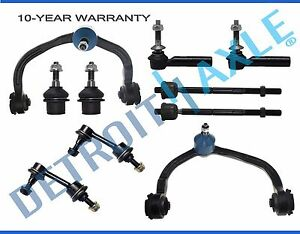 2004 Ford Expedition Lincoln Navigator Upper Control Arm And Tierod Kit 10pc