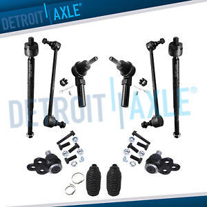 10pc Complete Front Suspension Kit For Cobalt Ion Hhr Pontiac G5 Excludes Turbo