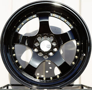 17x9 5x100 5x114 3 3 Lip Aodhan Ah03 Wheels Flush Fit Acura Rsx Type S Tsx Tl