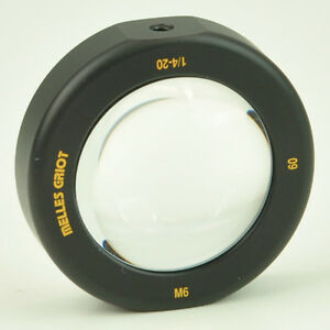 Melles Griot Fixed Mount Single Lens Holder With Lens 60mm Id
