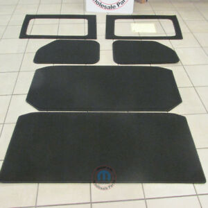 Jeep Wrangler Jk Complete Hard Top 4 Four Door Headliner Kit New Oem Mopar