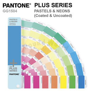 Pantone Plus Series Color Formula Guide Gg1504 Pastels Neons Coated Uncoated
