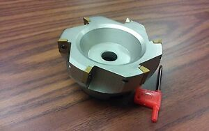 4 90 Degree Indexable Face Shell Mill face Milling Cutter Apkt z 2526 4030