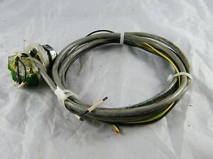 Maho Mhc700 4 axis Cnc Machine 10 3 Lead Power Cable With Panel Mount Switch