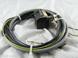 Maho Mhc700 4 axis Cnc Machine 10 7 Lead Power Cable Euchner Switch K08 552