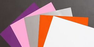 12 X 18 Dry Erase Magnet Sheets 5 Sheets Multiple Colors Made In Usa