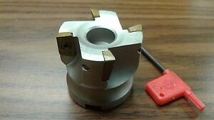 2 90 Degree Indexable Face Shell Mill face Milling Cutter Apkt z 2526 4015