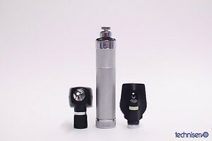 Welch Allyn Otoscope Ophthalmoscope Diagnostic Set 71050 25020 11600