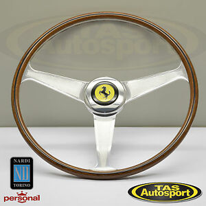 Nardi Steering Wheel Ferrari 1959 1965 All Models Wood 420mm 5819 42 3001