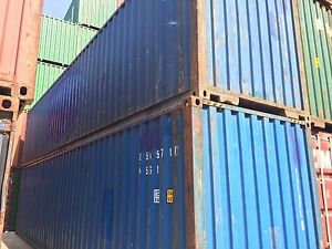 40ft Shipping Container Storage Container Conex Box In Atlanta Ga