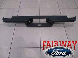 93 Thru 05 Ranger Oem Genuine Ford Rear Bumper Top Step Pad Black W Flareside