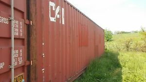 40 Shipping Container Storage Container Conex Box In Baltimore Maryland