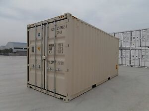 New 20ft Shipping Container Storage Container For Sale In Chicago Illinois