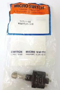 X2 Lot Toggle Switch Ms27737 31e 11tl1 5e Micro Switch Honeywell Div