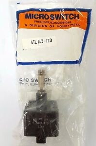 X2 Lot Toggle Switch 4tl143 12d Micro Switch Honeywell Div