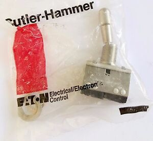 Lever Lock Toggle Switch A3 201 06 f Cutler Hammer Eaton A3 201
