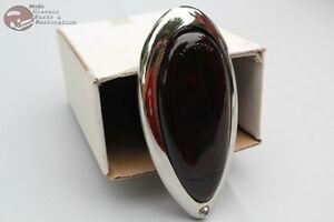 38 39 Ford Custom Motorcycle Tear Drop Tail Light Lamp Assembly Harley Chopper