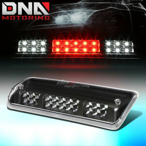 For 2004 2008 Ford F150 2 Row Led Third 3rd Tail Brake Light W Cargo Lamp Black