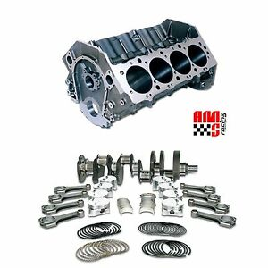 Bbc Chevy 565 Dart Forged Short Block 4 250 Stroke Mahle 11 8 Piston Unassembled